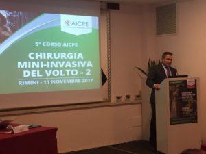 Alessandro Gualdi al 5 Corso AICPE di chirurgia mininvasiva del viso