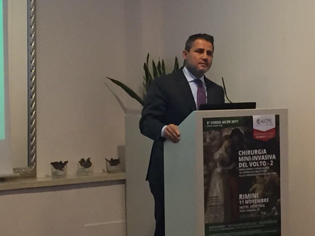 Chirurgia mininvasiva del viso, corso AICPE 2017, Alessandro Gualdi
