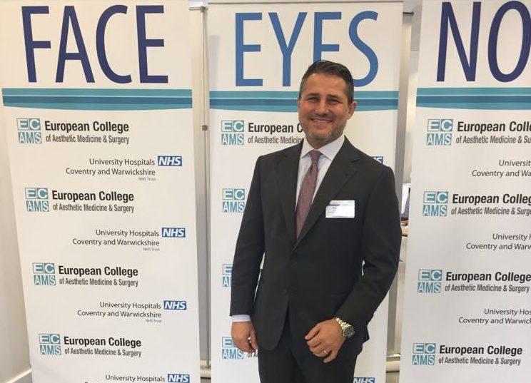 Facial Aesthetics Course Coventry. Alessandro Gualdi ed il suo M.U.S.T.